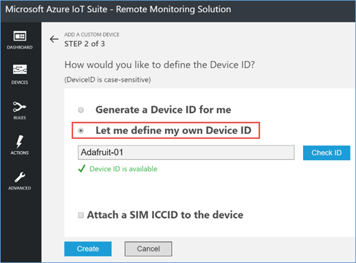 Generate device ID