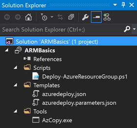 Author an Azure Resource Manager Template using Visual