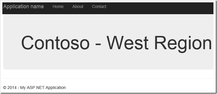 Contoso West